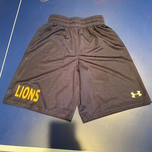 Under Amour Navy Classic Gym Mesh Shorts